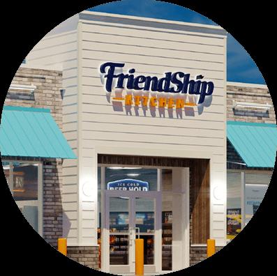 Friendship Exterior